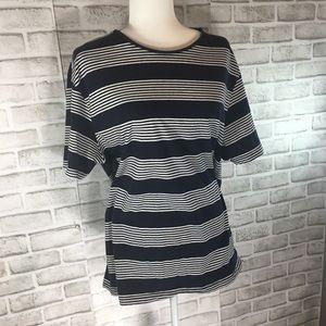 {Zara} essentials relaxed fit cotton t shirt